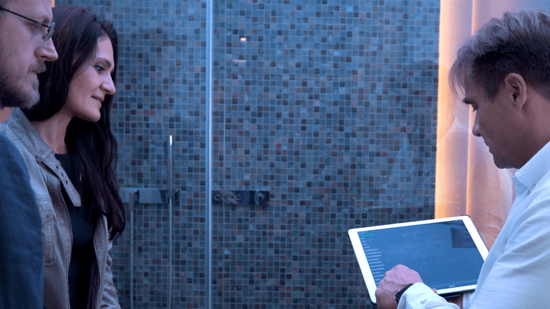 Spanke Haustechnik Dornbracht Musterbad